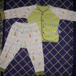 Piyama baby velvet junior