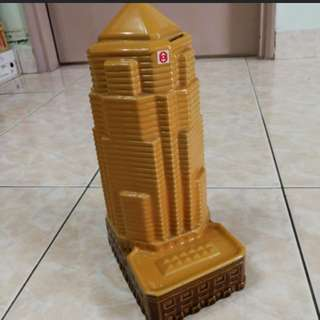 Menara Public  Bank Ceramic Coin Box
