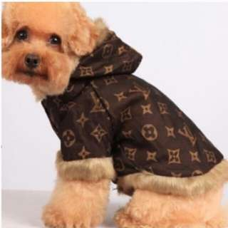 New Louis Vuitton Dog jacket