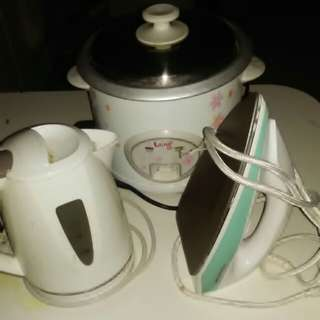 3item 1price Kettle / rice cooker / iron