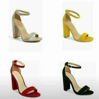 BLOCK HEELS 3-4 inches 👠