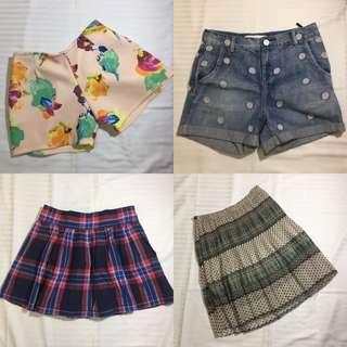 Skirt & shorts take all