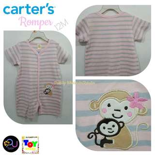 Carter's Romper Monkey