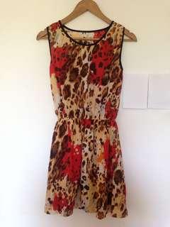 Animal Print Summer Dress