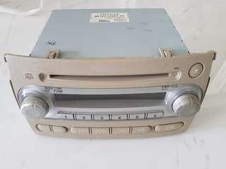 Sienta Toyota radio player unit