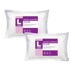 Paket 2 Bantal Hotel | The Luxe Bantal Twin Micro Support