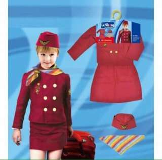 Steward Kids Professional Costume