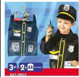 Police Officer Kids Professional Costume