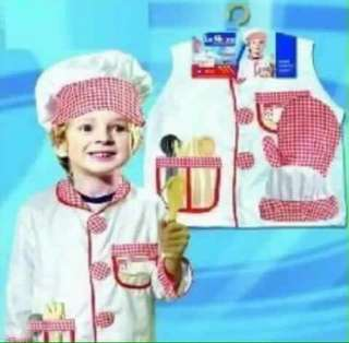 Chef Kids Professional Costume
