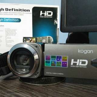 KOGAN HIGH DEFINITION VIDEO CAMERA