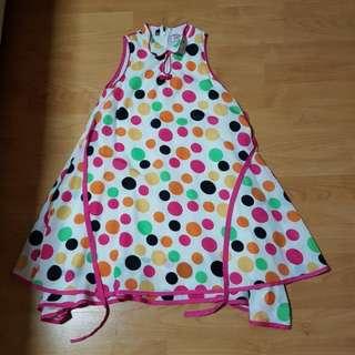 Colourful Polka Dots Dress