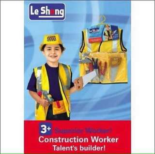 Engineer / Construction Worker Kids Professional Costume