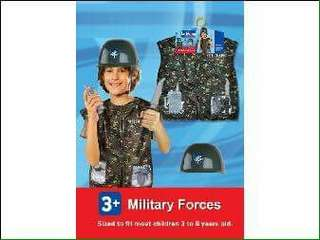 Soldier / Military Forces Kids Professional Costume