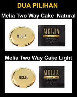 Melia Two Way Cake Light/Natural