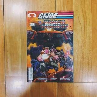 Image GIJoe vs Transformers issue 1
