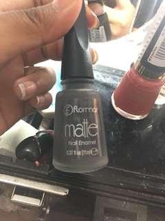 Flormar matte nail enamel
