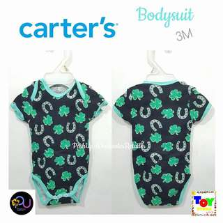 Carter's Bodysuit Clover and Horseshoe