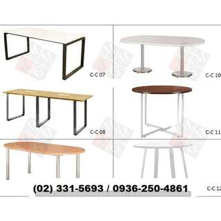-Office Table- Metal Base ( Office Partition ) Furniture*