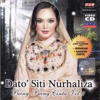 Dato' Siti Nurhaliza Puing-Puing Cinta Vol.2 VCD Karaoke