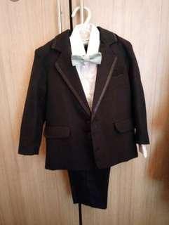 BNWT Boy Tux Suit