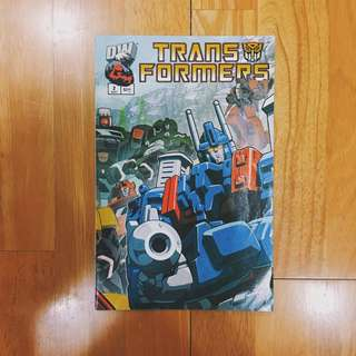Dreamwave Productions Transformers Generation 1 issue 2