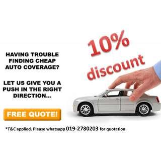Car Insurance and Road Tax Renewal