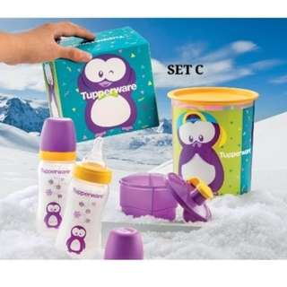 Tupperware Baby set