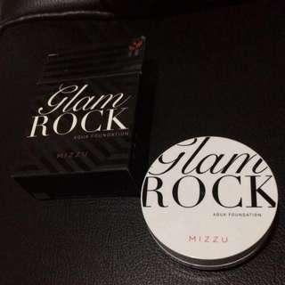 Mizzu cushion glam rock aqua foundation