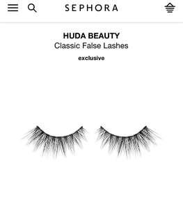 Huda Beauty Sasha #11 False Lashes