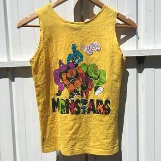 Space Jam monstars singlet
