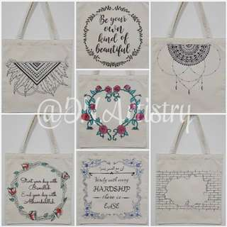 Customisable Tote Bag