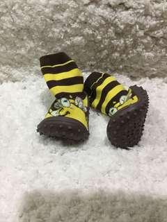 Non skid rubber sole socks