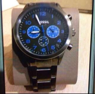 Fossil watch bnwt take 1 green watch