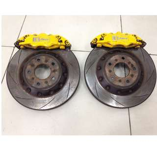 Mitsubishi Lancer Ex CY4 Caliper & Rotor Disc D1 Spec. (AS2521)