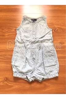 BabyGap denim playsuit