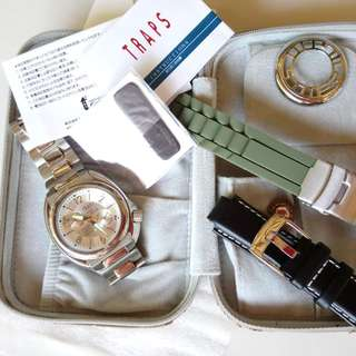 REPRICED!! Traps Mens Watch (all stainless Steel)
