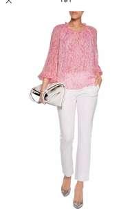 Diane Von furstenberg DVF 0 Silk top