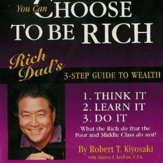 AUDIOBOOK - You Can Choose To Be Rich by Robert Kiyosaki