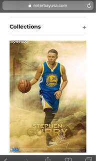 Enterbay Stephen Curry 2.0 not hottoys