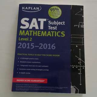 SAT Mathematics Level 2