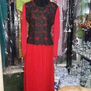 Long dress mewah cantik,,