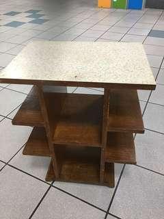 1960's teakwood side table