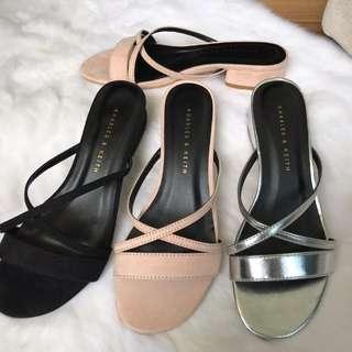 Original sandal charles & keith