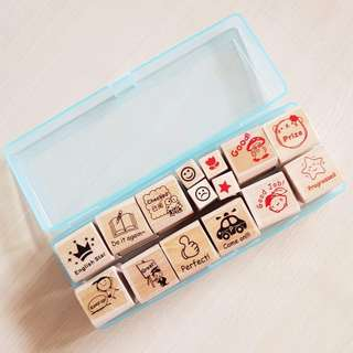 Teacher Stamp with Case