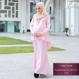 Maryam maternity baju kurung