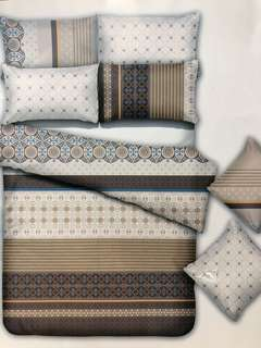 Bed Cover dan Sprei HIGH GRADE Katun Jepang Tribal