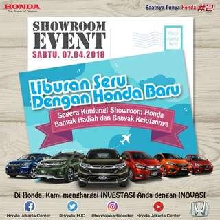 Shoowroom event honda