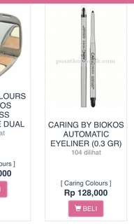 Caring Colours by Biokos Automatic Eyeliner #Black