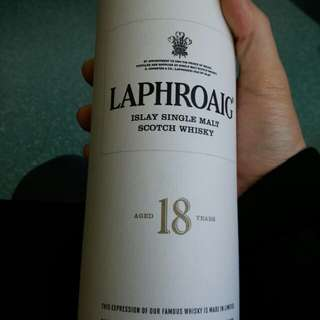 [絕版]laphoraig 18 years old (白標)