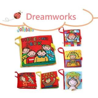 JollyBaby Cloth Book - Early Learning Series
